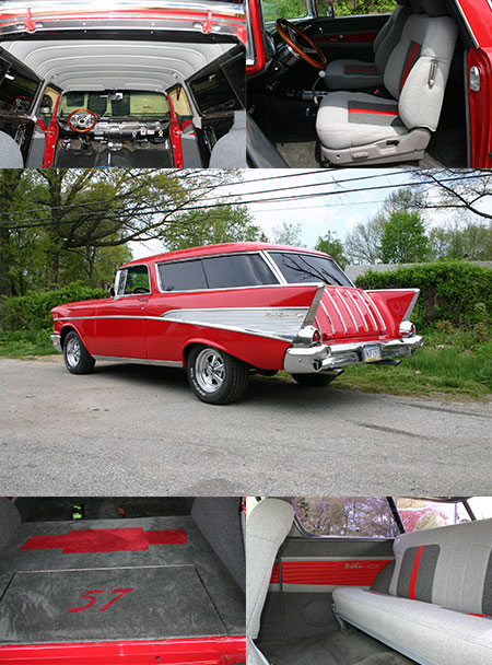 Antique and Classic Car Reupholstery in Aston, PA