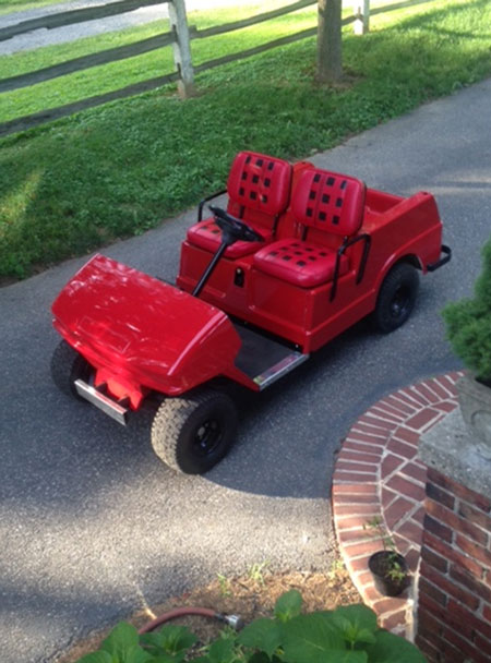 Toy Golf Cart Upholstery in Brandywine, PA