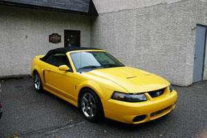 2007 Mustang Cobra Auto Upholstery