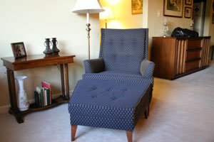 Residential Chair Furniture Upholstery