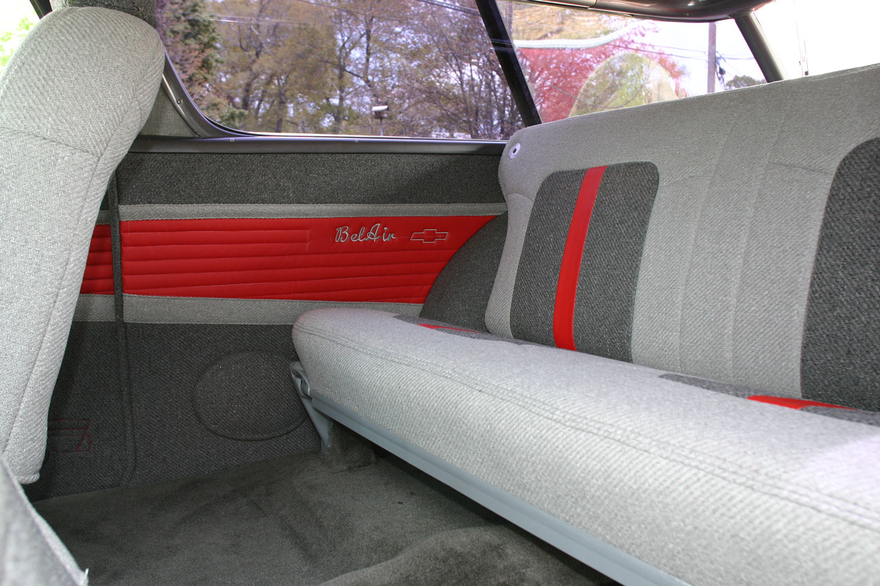 1957 Chevy Bel Air Custom Interior and Automotive Upholstery