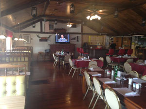 Commercial Upholstery: Wagonwheel Restaurant in Churchton, MD