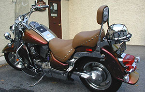 Custom Motorcycle Seat Cushion Installation, Repair, Replacement, and Upholstery in Delaware County, PA